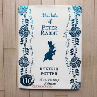 [RARE] The Tale of Peter Rabbit 110th Anniversary Edition - Beatrix Potter