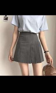 Korean Aline pleaded skirt