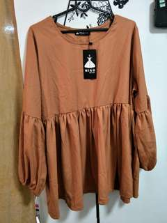 Brand New Babydoll Blouse by miko Concepts