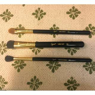 SIGMA BEAUTY Golden Classics Eye Shading Brush Set