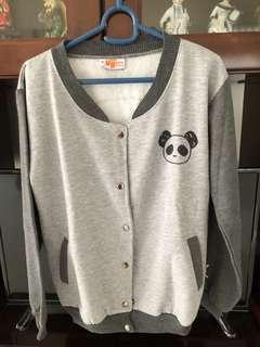 Jaket Varsity Panda