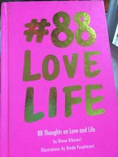 """Buku """"88 love life"""""""