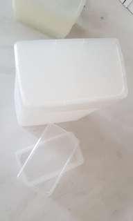 Set of 13 set Daiso shoe box with lid shoebox L 30cm * W 18cm * H 9cm