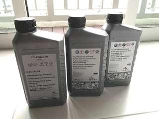 Volkswagen DSG gearbox oil