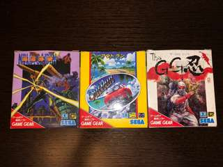 Sega Game Gear Original Games