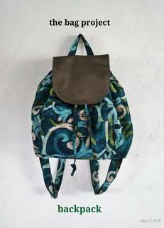 The Bag Project Backpack