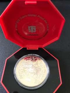 1997 $10 Ox Coin