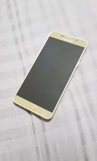 Good Condition Gold Samsung Note 5 for Sale