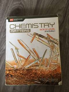 Chemistry Matters 2nd Edition GCE 'O' Level