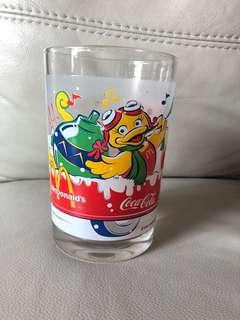 2001年麥當勞McDonald's聖誕版水杯