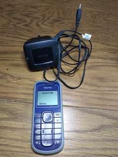 [性能良好 9成新] Nokia 舊式 電話 手機 連充電器 (English Thai Language Version 英文 泰文版)