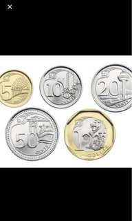 10 cents, 20Cents, 50 cents, &1 Coin Exchange