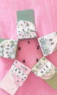 Japanese tape (washi / paper / adhesive / masking / craft / scrapbook / card)