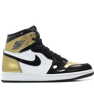 Air Jordan 1 Retro High OG NRG - Gold Toe - Shoe
