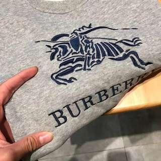 100-130cm ● Burberry Kids Velvet Winter Sweater Set