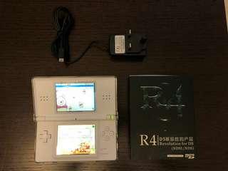 White Nintendo DS Lite