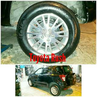 Tyre 215/65 R16 Membat on Toyota Rush 🐕 Super Offer 🙋‍♂️