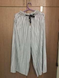 HTP Striped Culottes