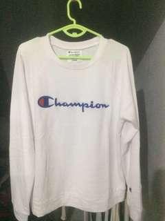 Champion Crewneck White CMT