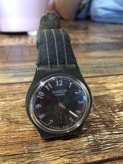 Swatch直條紋手錶