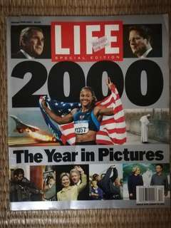 Life Magazine Special Edition. 2000 the Year in Picture