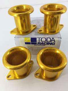 TODA Racing 4 Throttle Trumpet 20v 4AGE Gold