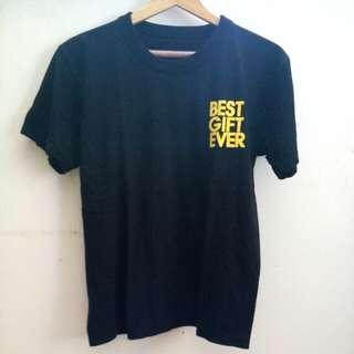Best Gift Ever Black Tshirt