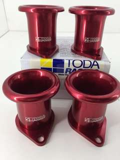 TODA Racing 4 Throttle Trumpet 20v 4AGE RED