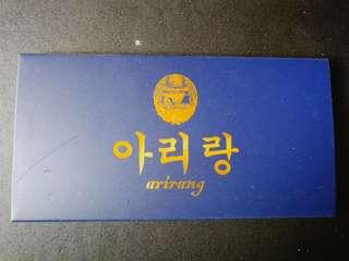 North korean commenorative copper coin 2002 unc