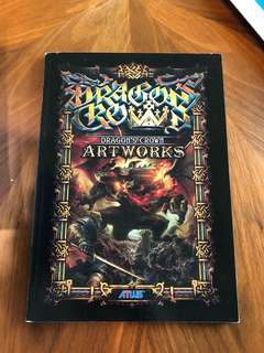 Dragon's Crown artworks book