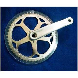~~~ BiCyCLe SinGle Chain Ring SinGLe Crank  52T $38 ~~~