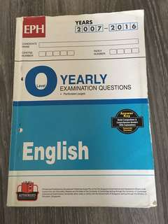 EPH O Level Exam Ques