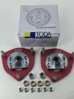 TODA Racing Toyota Corolla AE100 AE101 AE110 AE111 Front Pillow Ball Top Mount Adjustable 1 Pair