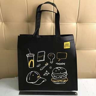 McDonald's Taiwan Shopping Bag Black or Yellow