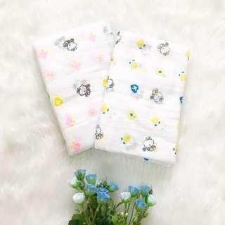 Gauze Diaper (Lampin) Hello Kitty Print