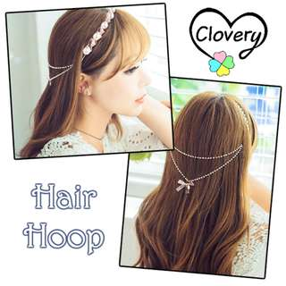 Head band Hair Hoop Ribbon