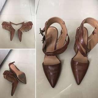 Good Condition Authentic Nine West Dress Sandals