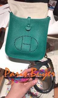 Mini Evelyne 16 Amazone Vert Vertigo/Vert Fonce Tau. Clemence