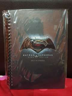 BATMAN VS SUPERMAN notebook