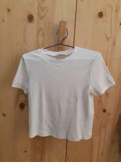 Top Zara / Atasan Putih Zara