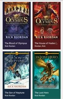 Heroes of Olympus Epub Set