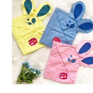 Flannel Hooded Blanket With Ears (Per Piece)