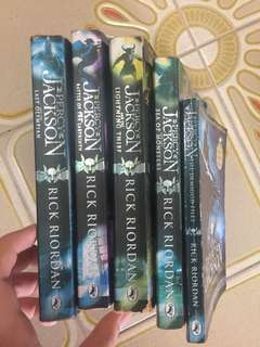 Percy Jackson Series all for $32