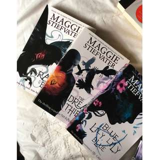 The Raven Cycle Series Book 1-3 - Maggie Stiefvater