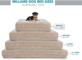 High Quality Dog Bedding / Mattress with 2 Replacement Covers