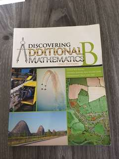 Discovering Additional Mathematics Book B