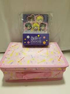 Sailor Moon美少女戰士收納盒+Memo 纸