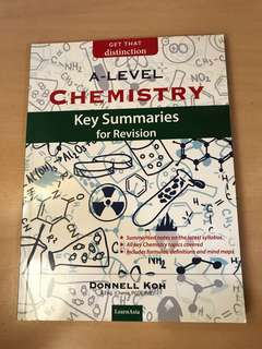 H2 Physics and H2 Chemistry summary book