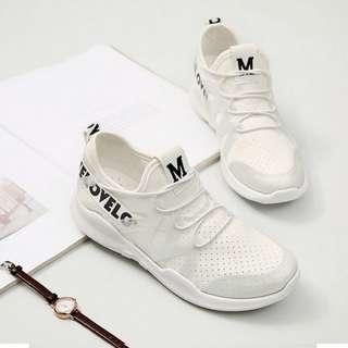 🚚 ★瘦腿✩果凍增高鞋~白/粉兩色