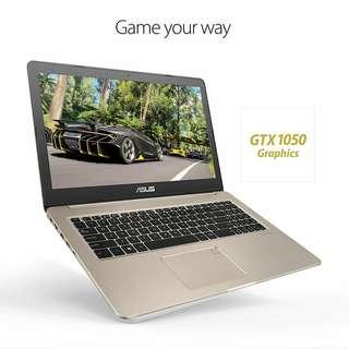 Kredit Laptop Asus Vivobook Pro proses cepat cuman 3 menit cicilan tanpa kartu kredit